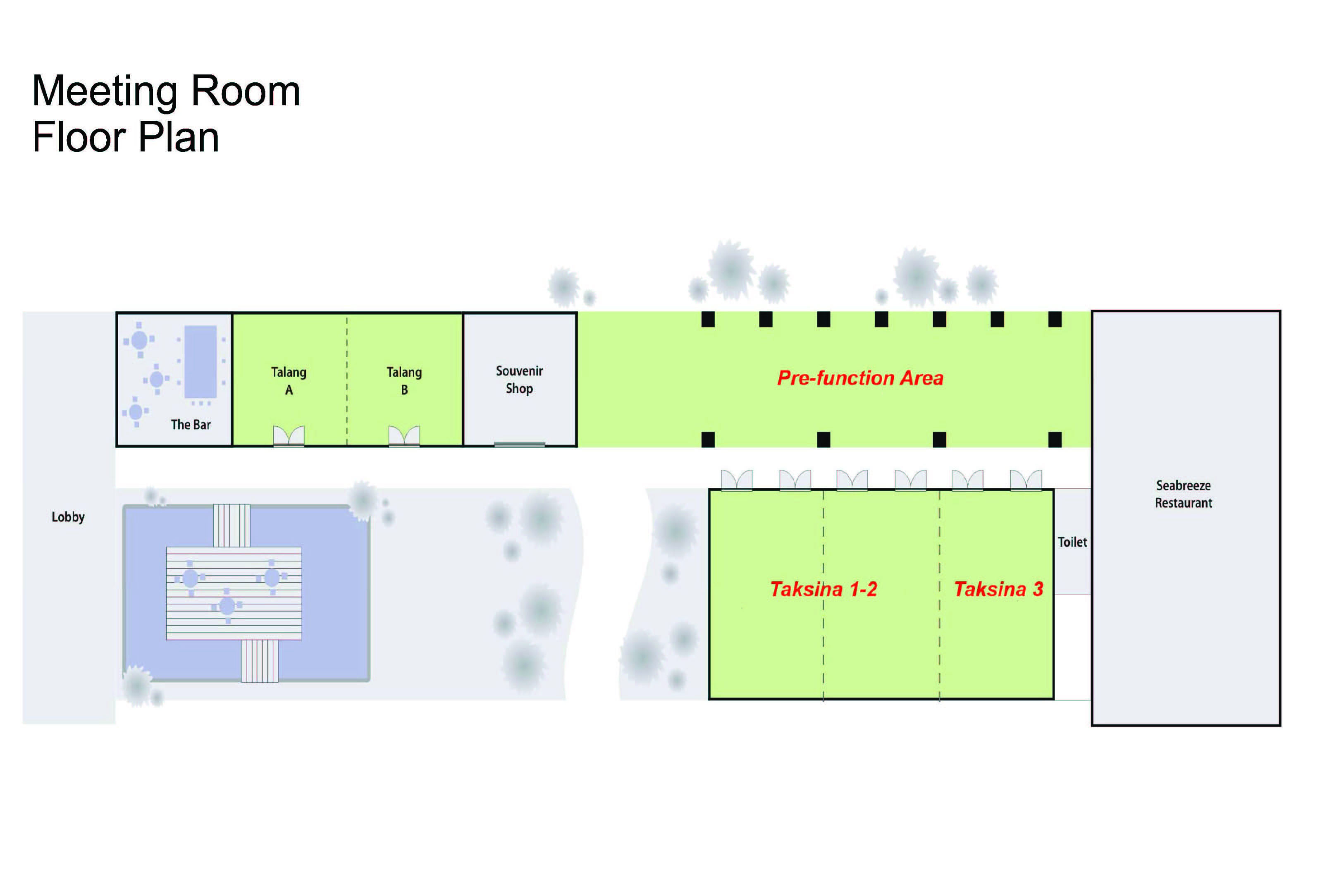 online meeting room planner Hyatt hotels and resorts offer stylish guestrooms, innovative meeting facilities and flexible exhibit space – plus access to nearby convention centers - for your perfect meeting.